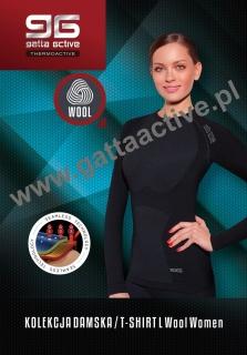 Koszulka Gatta Woman Wool Thermoactive 2953 S