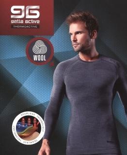 Koszulka Gatta T-Shirt Wool Men 42946 S