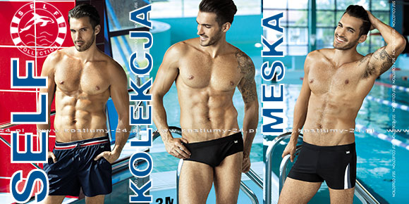 Bokserki, szorty, kąpielówki - Producent Self - Kolekcja męska. Kolekcja 2018